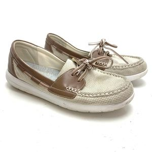 CLARKS CLOUDSTEPPERS Boat Shoes Moccasins sz 9